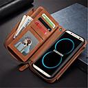 رخيصةأون Sony أغطية / كفرات-غطاء من أجل Samsung Galaxy S8 Plus / S8 / S7 edge محفظة / حامل البطاقات / ضد الصدمات غطاء كامل للجسم لون الصلبة قاسي جلد PU