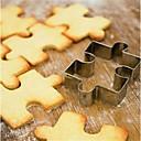 رخيصةأون أدوات الفرن-1PC الفولاذ المقاوم للصدأ المطبخ الإبداعية أداة بسكويت لأواني الطبخ مربع قاطعات بسكويت أدوات المعكرونة أدوات خبز
