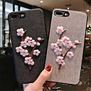 povoljno iPhone maske-Θήκη Za Apple iPhone X / iPhone 8 Plus / iPhone 8 Uzorak Stražnja maska Cvijet Mekano TPU