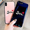 رخيصةأون واقيات شاشات سامسونج-غطاء من أجل Apple iPhone X / iPhone 8 Plus / iPhone 8 نموذج غطاء خلفي جملة / كلمة ناعم سيليكون