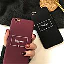 voordelige Galaxy S7 Edge Hoesjes / covers-hoesje Voor Apple iPhone X / iPhone 8 Plus / iPhone 8 Patroon Achterkant Woord / tekst Hard Acryl