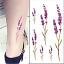 رخيصةأون وشم مؤقت-10 pcs ملصقات الوشم الوشم المؤقت سلسلة الزهور الفنون الجسم ذراع
