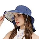 ieftine Pălării, Șepci & Bandane-VEPEAL Καπέλο πεζοπορίας Căciulă Alergare Pălării Wide Brim Ușor Rezistent la Vânt Cremă Cu Protecție Solară Rezistent la UV Mată Modă POLY Chinlon Primăvară pentru Pentru femei Pescuit Drumeție Voiaj
