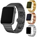 voordelige Apple Watch-bandjes-Horlogeband voor Apple Watch Series 5/4/3/2/1 Apple Butterfly Buckle Roestvrij staal Polsband
