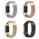povoljno Maske/futrole za Galaxy S seriju-Pogledajte Band za Fitbit Charge 2 Fitbit Preklopna metalna narukvica Metal / Nehrđajući čelik Traka za ruku