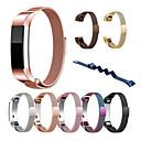 رخيصةأون أساور ساعات FitBit-حزام إلى Fitbit Alta HR / Fitbit Alta فيتبيت عقدة ميلانزية ستانلس ستيل شريط المعصم