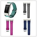 ieftine Proiectoare LED-Uita-Band pentru Fitbit Charge 2 Fitbit Curea din piele Metal / Piele Curea de Încheietură