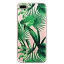 رخيصةأون ساعات النساء-غطاء من أجل Apple iPhone X / iPhone 8 Plus / iPhone 8 نموذج غطاء خلفي النباتات / شجرة ناعم TPU
