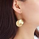 ieftine Cercei-Cercei Picătură femei Modă cercei Bijuterii Auriu / Argintiu Pentru Zilnic Dată