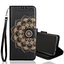 levne Náušnice-Carcasă Pro Samsung Galaxy S9 / S9 Plus / S8 Plus Peněženka / Pouzdro na karty / Flip Celý kryt Květiny Pevné PU kůže