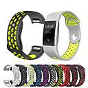 povoljno Remenje za Fitbit satove-Pogledajte Band za Fitbit Charge 2 Fitbit Sportski remen Silikon Traka za ruku
