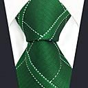 رخيصةأون أزرار أكمام-ربطة العنق ألوان متناوبة / شيك / خملة الجاكوارد رجالي حفلة / عمل