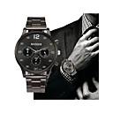 ieftine Ceasuri Bărbați-Bărbați Oțel inoxidabil Argint Cronograf Analog Vintage Modă - Alb Negru Un an Durată de Viaţă Baterie / SSUO LR626