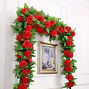 cheap Artificial Flowers-Artificial Flowers 1 Branch Party / Evening Wedding Roses Wall Flower