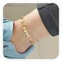 رخيصةأون خلخال-نسائي خلخال مجوهرات القدمين سيدات عتيق خلخال مجوهرات ذهبي / فضي من أجل مناسب للبس اليومي مناسب للعطلات