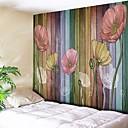 povoljno Ukrasne naljepnice-Arhitektura Zid Decor Poliester Vintage Wall Art, Zidne tapiserije Ukras