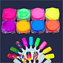 """povoljno MacBook Pro 15"""" maske-8pcs Umjetni noktički savjeti Torba za alat Za Art pribor nail art Manikura Pedikura Glamurozan sjaj"""