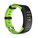 povoljno Smart Wristbands-p5 pametni narukvicu bluetooth fitness tracker podrška obavijesti / monitor brzine otkucaja ugrađeni gps sportski vodootporan smartwatch kompatibilan s iphone / samsung / android telefonima