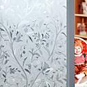 povoljno Sve za prozore-Prozor Film i Naljepnice Ukras Cvijetan Cvjetni print PVC / Vinil Mat