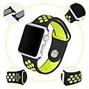 رخيصةأون Xiaomi أغطية / كفرات-حزام إلى Apple Watch Series 4/3/2/1 Apple عصابة الرياضة سيليكون شريط المعصم