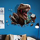رخيصةأون ملصقات ديكور-لواصق حائط مزخرفة - ملصقات الحائط الحيوان حيوانات 3D غرفة الجلوس غرفة النوم دورة المياه مطبخ غرفة الطعام غرفة دراسة / مكتب