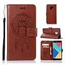 رخيصةأون حافظات / جرابات هواتف جالكسي A-غطاء من أجل Samsung Galaxy A3 (2017) / A5 (2017) / A7 (2017) محفظة / حامل البطاقات / قلب غطاء كامل للجسم بوم قاسي جلد PU