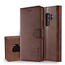 povoljno Maske/futrole za Galaxy S seriju-Θήκη Za Samsung Galaxy S9 / S9 Plus / S8 Plus Novčanik / Utor za kartice / sa stalkom Korice Jednobojni Tvrdo PU koža
