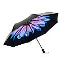 رخيصةأون أدوات المطر-بلاستيك نسائي مشمس وممطر / مقاوم للرياح / جديد مظلة ملطية