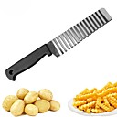 povoljno Kuhijnski alati-Nehrđajući čelik Cutting Tools Pribor za voće i povrće Kreativna kuhinja gadget Kuhinjski pribor Alati Krumpir Mrkva Krastavac 1pc