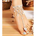 povoljno Naušnice-Žene Nakit za tijelo 20 cm Kratka čarapa / Prst prstiju Pink Neregularan Jednostavan / Moda Legura Nakit odjeće Za Vjenčanje / Izlasci 9.0*9.0*2.0 cm Ljeto