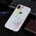 رخيصةأون أطقم المجوهرات-غطاء من أجل Apple iPhone X / iPhone 8 Plus / iPhone 8 تصفيح / نموذج غطاء خلفي فراشة / الهندباء ناعم TPU