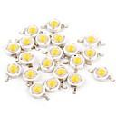 ieftine Module Becuri LED-YouOKLight 50buc Accesoriu pentru becuri LED de aur pur Cip LED Transparent 1 W