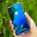 povoljno iPhone maske-Θήκη Za Apple iPhone X / iPhone 8 Plus / iPhone 8 Prozirno / Prijelaz boje Stražnja maska Prijelaz boje Tvrdo PC