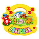 ieftine Imbracaminte & Accesorii Căței-Tastatură electronică Culoare Gradient Unisex Băieți Fete Bebeluș Jucarii Cadou 1 pcs / Lemn