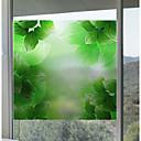 رخيصةأون الستائر-فيلم نافذة وملصقات زخرفة مت / معاصر 3D طباعة PVC ملصق النافذة / بدون لمعة