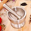 abordables Utensilios de cocina y Gadgets-Acero inoxidable Picadora Rapidez Cocina creativa Gadget prensa Utensilios de cocina herramientas Para utensilios de cocina Ajo 1pc