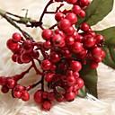 povoljno Umjetno cvijeće-Umjetna Cvijeće 1 Podružnica Rustikalni Zabava Božićno drvce Vječni cvjetovi Cvjeće za stol
