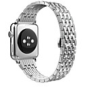 povoljno Apple Watch remeni-Pogledajte Band za Apple Watch Series 5/4/3/2/1 Apple Leptir Buckle Nehrđajući čelik Traka za ruku