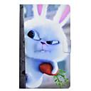 رخيصةأون حالة سامسونج اللوحي-غطاء من أجل Samsung Galaxy Tab A 8.0 حامل البطاقات / ضد الصدمات / مع حامل غطاء كامل للجسم حيوان قاسي جلد PU