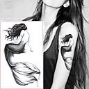 رخيصةأون وشم مؤقت-5 pcs ملصقات الوشم الوشم المؤقت سلسلة الرسوم المتحركة الفنون الجسم معصم