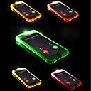رخيصةأون أقراط-غطاء من أجل Apple iPhone X / iPhone 8 Plus / iPhone 8 LEDضوء فلاش غطاء خلفي لون سادة ناعم TPU