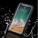 ieftine USB-uri-Maska Pentru Apple iPhone X / iPhone 8 Plus / iPhone 8 Rezistent la apă Carcasă Telefon Mată Moale TPU