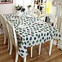 رخيصةأون شرشفات الطاولة-معاصر كاجوال PVC ABS + PC مربع قماش الطاولة ورد هندسي الجدول ديكورات 2 pcs