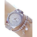 ieftine Ustensile & Gadget-uri de Copt-Pentru femei Ceas Elegant Quartz Oțel inoxidabil Argint / Auriu 50 m Cronograf Analog femei Casual - Auriu Argintiu Doi ani Durată de Viaţă Baterie