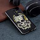 رخيصةأون حافظات / جرابات هواتف جالكسي S-غطاء من أجل Samsung Galaxy S9 / S9 Plus / S8 Plus نموذج غطاء خلفي جماجم قاسي الكمبيوتر الشخصي
