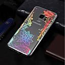 baratos Capinhas para Galaxy Série S-Capinha Para Samsung Galaxy S9 / S9 Plus / S8 Plus Galvanizado / Estampada Capa traseira Lace Impressão Macia TPU