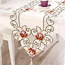 رخيصةأون شرشفات الطاولة-معاصر PVC مربع قماش الطاولة ورد الجدول ديكورات 1 pcs