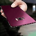 رخيصةأون حافظات / جرابات هواتف جالكسي S-غطاء من أجل Samsung Galaxy S9 / S9 Plus / S8 Plus حجر كريم / نحيف جداً / بريق لماع غطاء خلفي لون سادة ناعم TPU