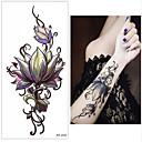 ieftine Tatuaje Temporare-3 pcs Acțibilde de Tatuaj Tatuaje temporare Serie de Flori Arta corpului carp