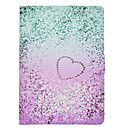 povoljno iPhone futrole/maske-Θήκη Za Apple iPad Air / iPad 4/3/2 / iPad Pro 10.5 Utor za kartice / Otporno na trešnju / sa stalkom Korice Srce Tvrdo PU koža / iPad 9.7 (2017)